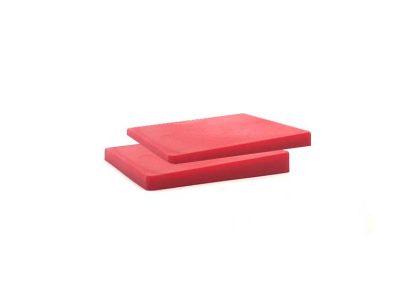 cuña de plastico roja