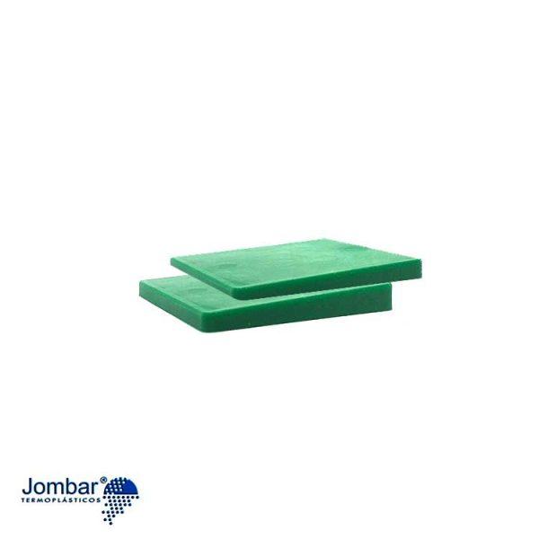 cuña de plastico verde